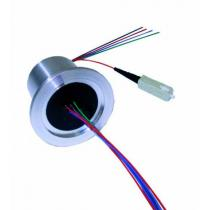 Flange KF40 - Optic Fiber (wire)
