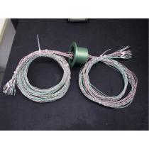 Flange KF50 - 24 x Thermocouple : 12*K + 12*T (wire)