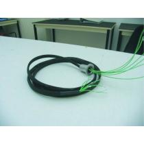 Flange KF25 - 6 x Thermocouple K (wire)