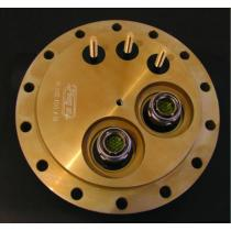 Special Flange with D38999 connectors