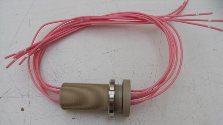 Special Wired Feedthrough M42 - 6*AWG12